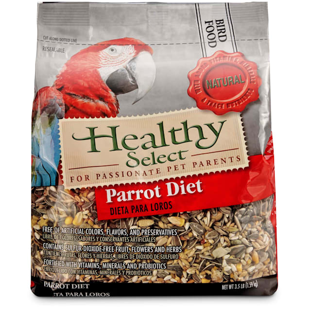 Healthy Select Parrot Diet Bird Food, 3.5 lbs. - Carousel image #1