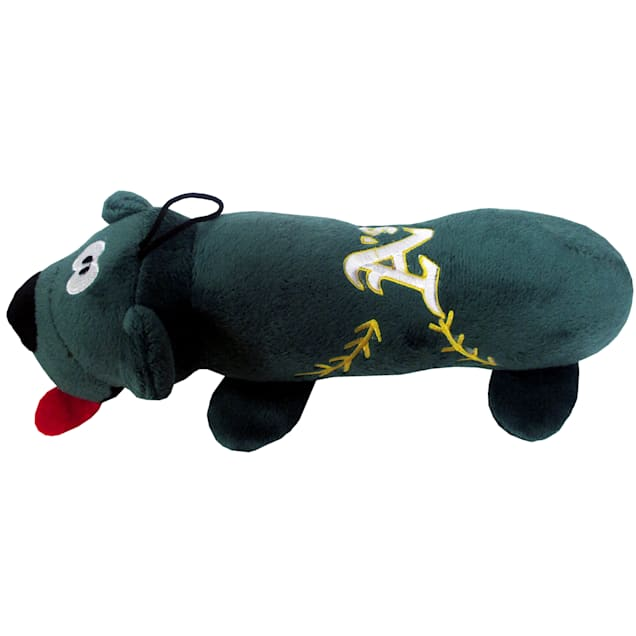 Pets First MLB Oakland Athletics Tube Toy, Large - Carousel image #1