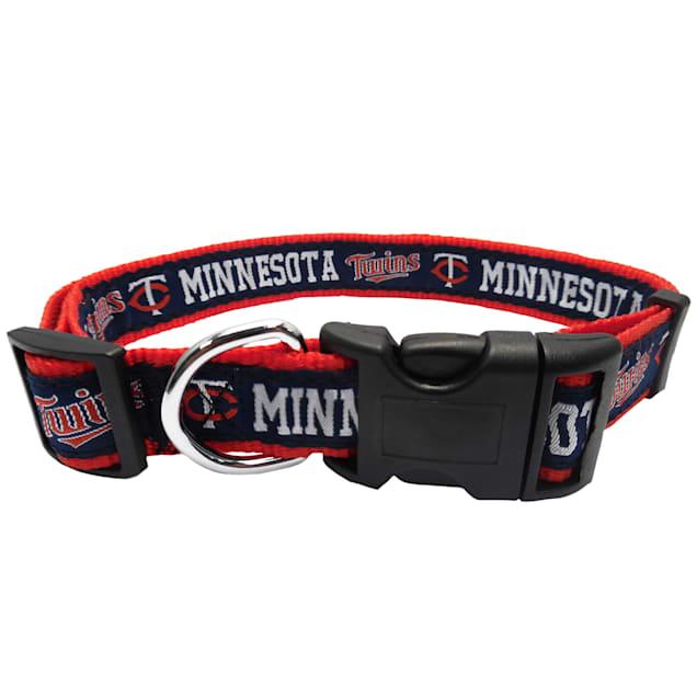 Pets First Minnesota Twins MLB Dog Collar, Small - Carousel image #1