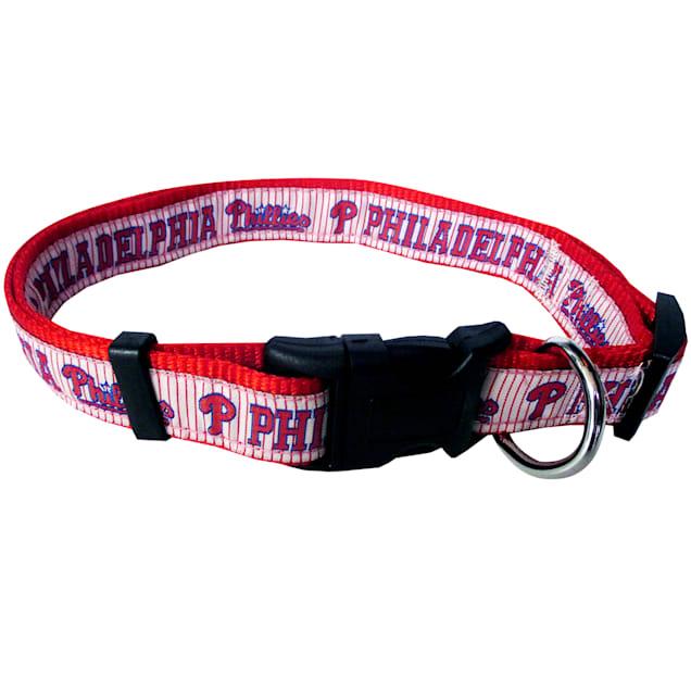 Pets First Philadelphia Phillies MLB Dog Collar, Small - Carousel image #1