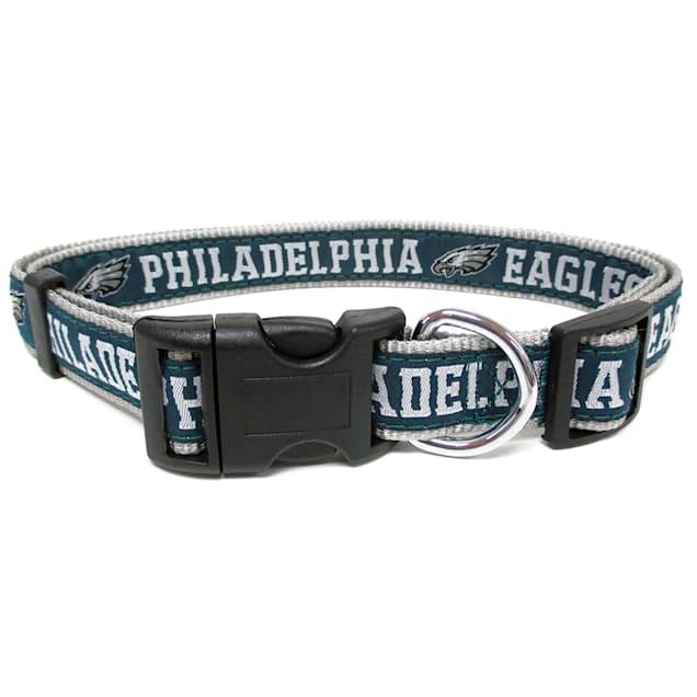 Pets First Philadelphia Eagles NFL Dog Collar, Small - Carousel image #1
