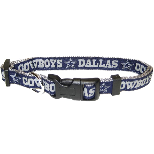 Pets First Dallas Cowboys NFL Dog Collar, Small - Carousel image #1
