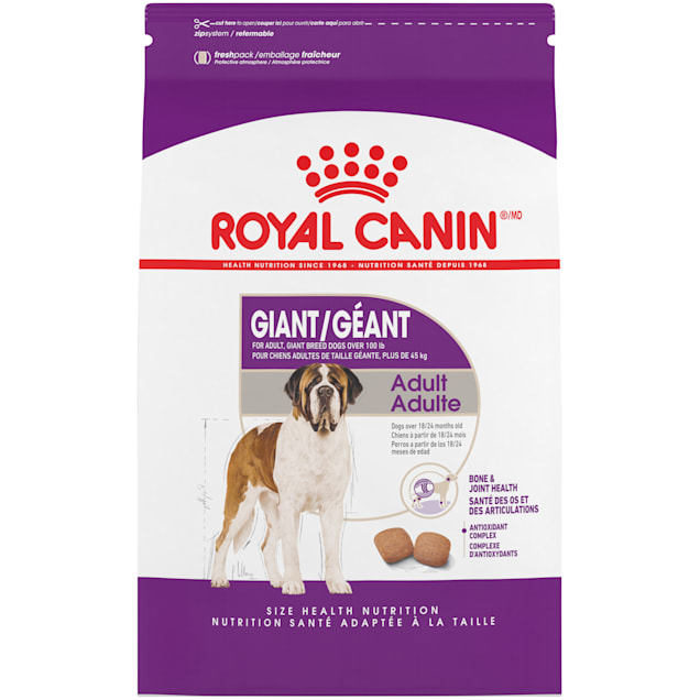 Royal Canin Size Health Nutrition Giant Adult Dry Dog Food, 35 lbs. - Carousel image #1