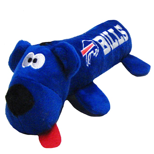 """Pets First Buffalo Bills Tube Toy For Dogs, 11"""" - Carousel image #1"""