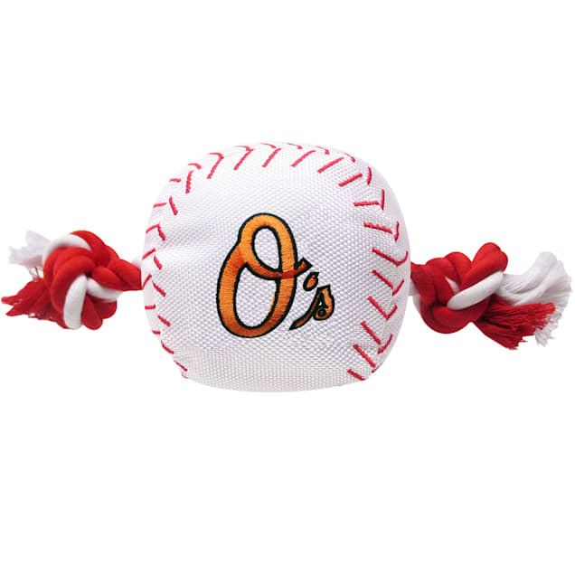Pets First MLB Baltimore Orioles Baseball Toy, Large - Carousel image #1