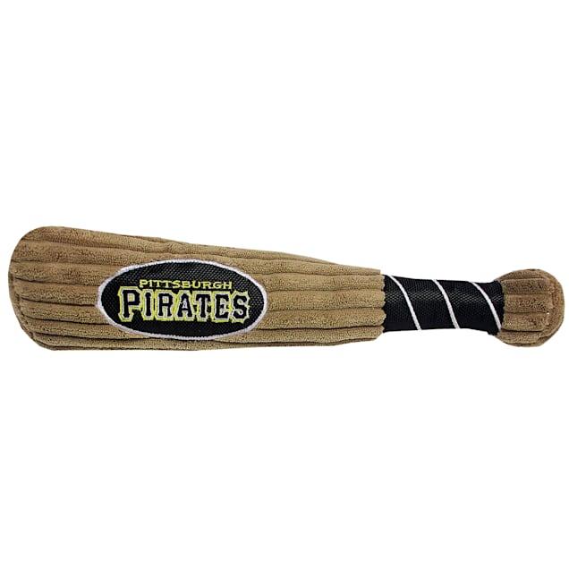 Pets First MLB Pittsburgh Pirates Baseball Bat Toy, Large - Carousel image #1