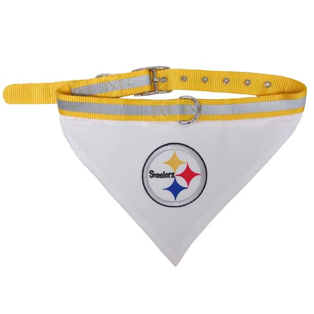 Pets First Pittsburgh Steelers Collar Bandana, Small - Carousel image #1