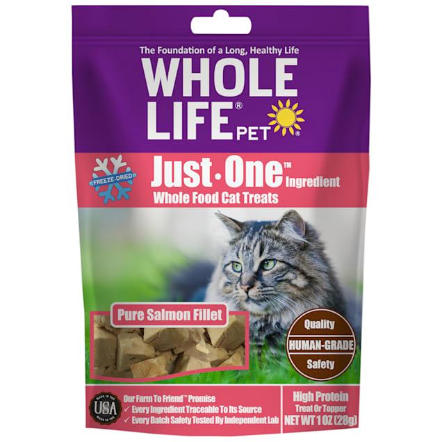 Whole Life Pet Pure Turkey Freeze-Dried Cat Treats, 1 oz. - Carousel image #1