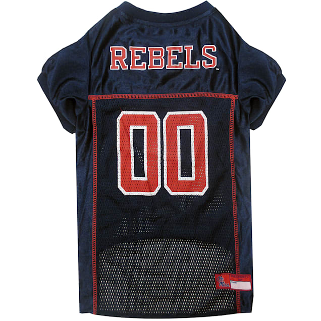 Pets First Mississippi State Rebels NCAA Mesh Jersey for Dogs, X-Small - Carousel image #1