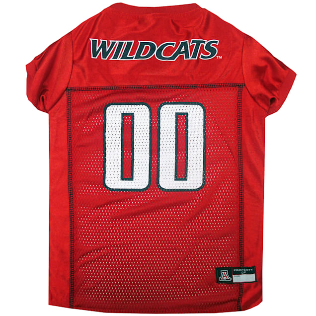 Pets First Arizona Wildcats NCAA Mesh Jersey for Dogs, X-Small - Carousel image #1