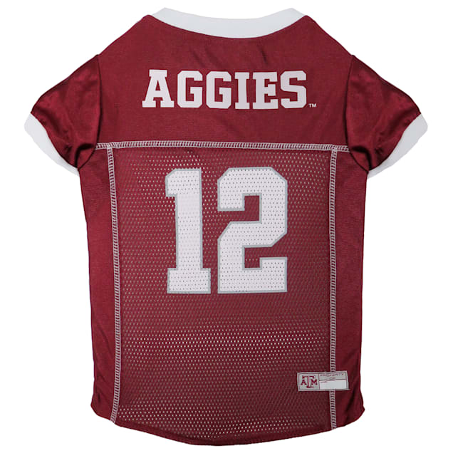 Pets First Texas A&M Aggies NCAA Mesh Jersey for Dogs, X-Small - Carousel image #1