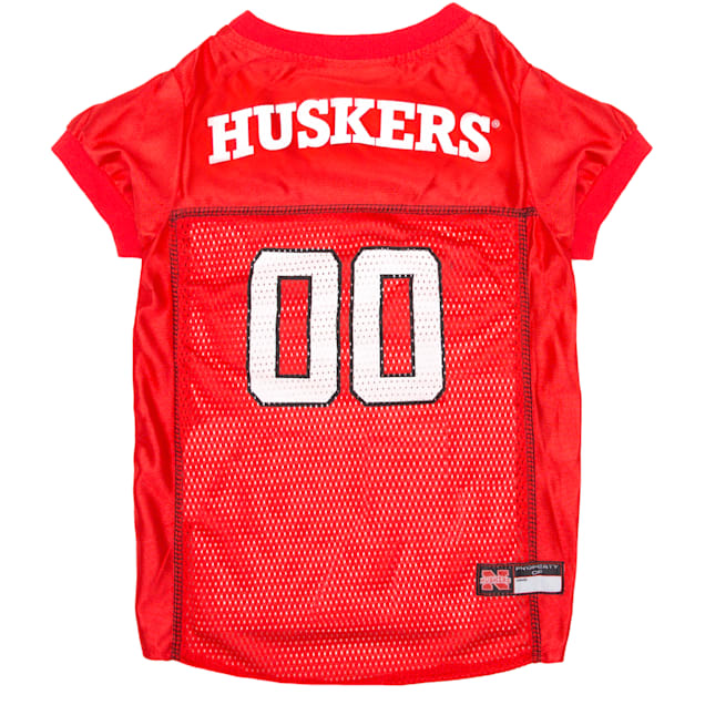 Pets First Nebraska Cornhuskers NCAA Mesh Jersey for Dogs, X-Small - Carousel image #1