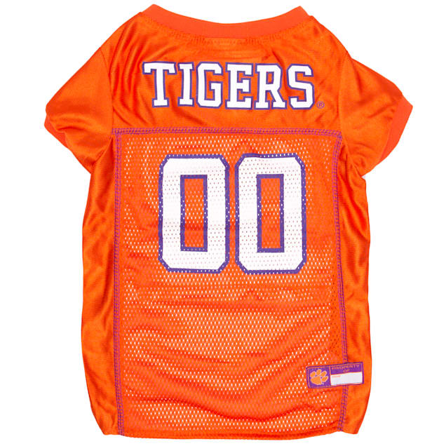 Pets First Clemson Tigers NCAA Mesh Jersey for Dogs, X-Small - Carousel image #1
