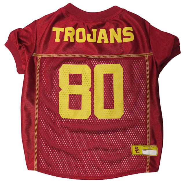 Pets First USC Trojans NCAA Mesh Jersey for Dogs, X-Small - Carousel image #1