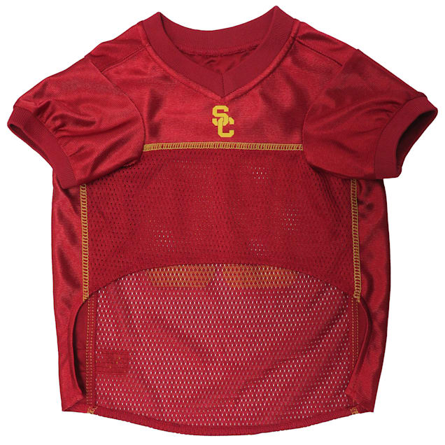 Littlearth NCAA USC Trojans Pet Jersey Small