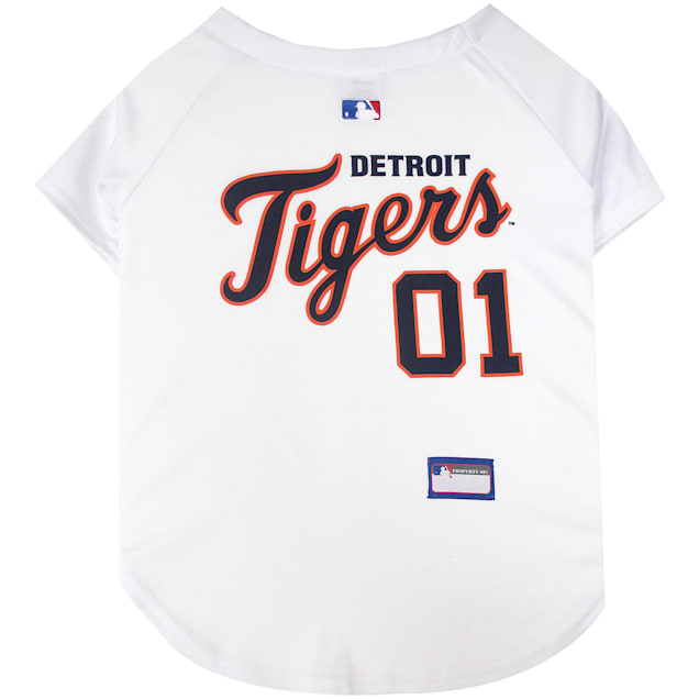 Pets First Detroit Tigers MLB Mesh Jersey, X-Small - Carousel image #1