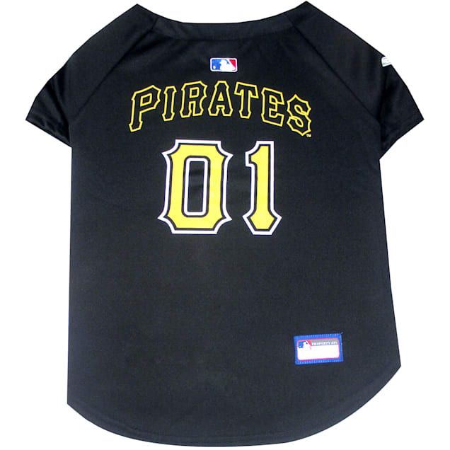 Pets First Pittsburgh Pirates MLB Mesh Jersey, X-Small - Carousel image #1