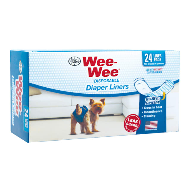 Wee-Wee Disposable Diaper Liners, 24 Pack - Carousel image #1