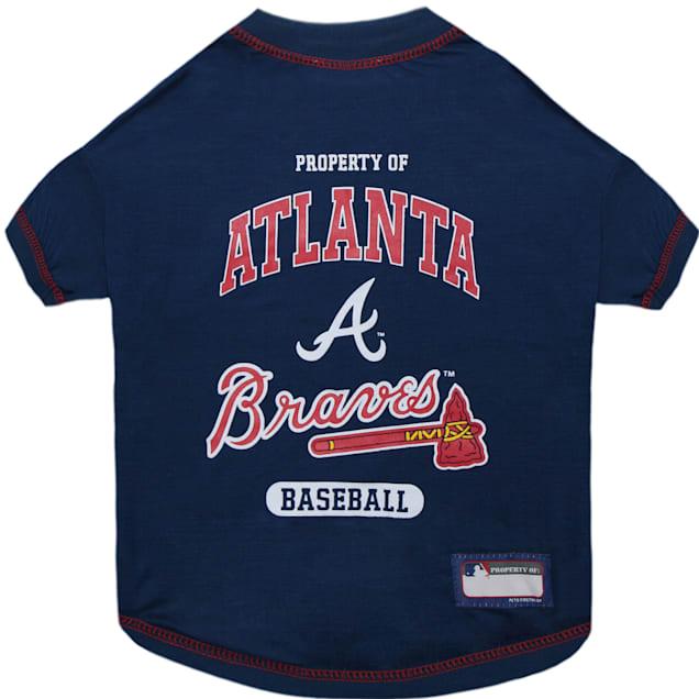 Pets First Atlanta Braves T-Shirt, X-Small - Carousel image #1