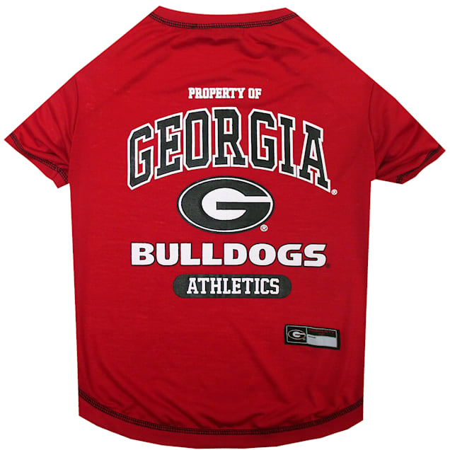 Pets First Georgia Bulldogs NCAA T-Shirt for Dogs, X-Small - Carousel image #1