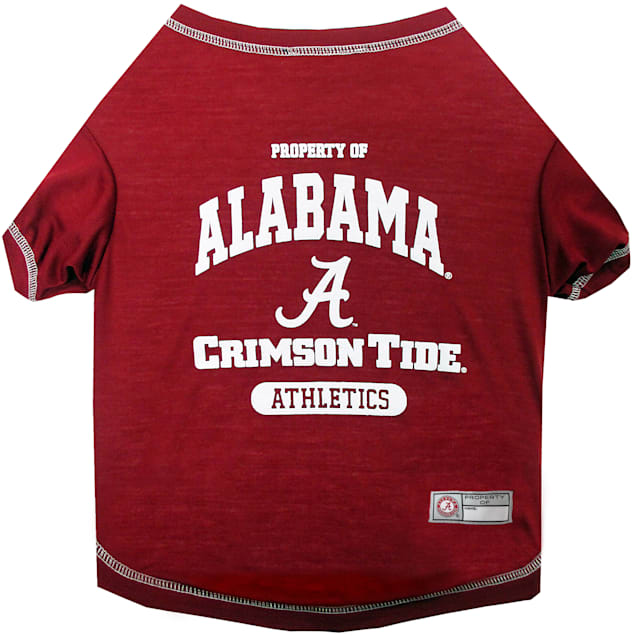 Pets First Alabama Crimson Tide NCAA T-Shirt for Dogs, X-Small - Carousel image #1