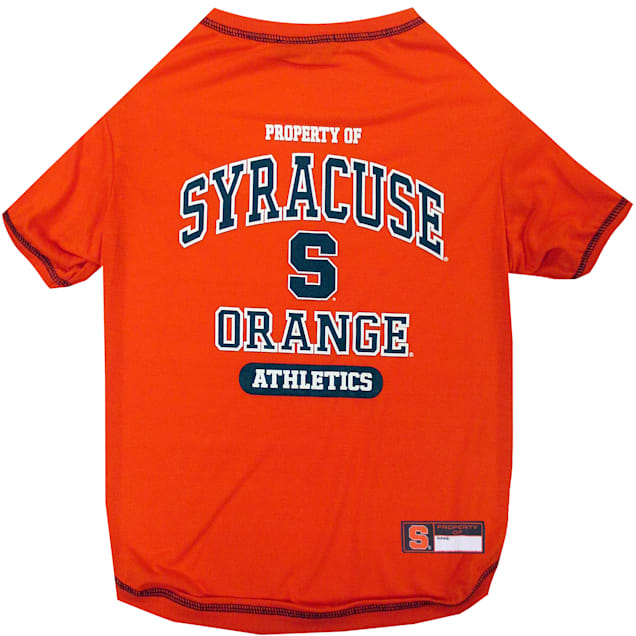 Pets First Syracuse Orange NCAA T-Shirt for Dogs, X-Small - Carousel image #1