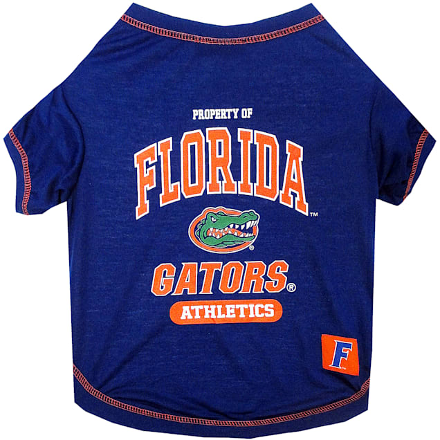 Pets First Florida Gators NCAA T-Shirt for Dogs, X-Small - Carousel image #1