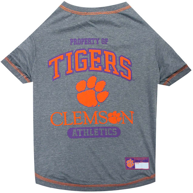 Pets First Clemson Tigers NCAA T-Shirt for Dogs, X-Small - Carousel image #1