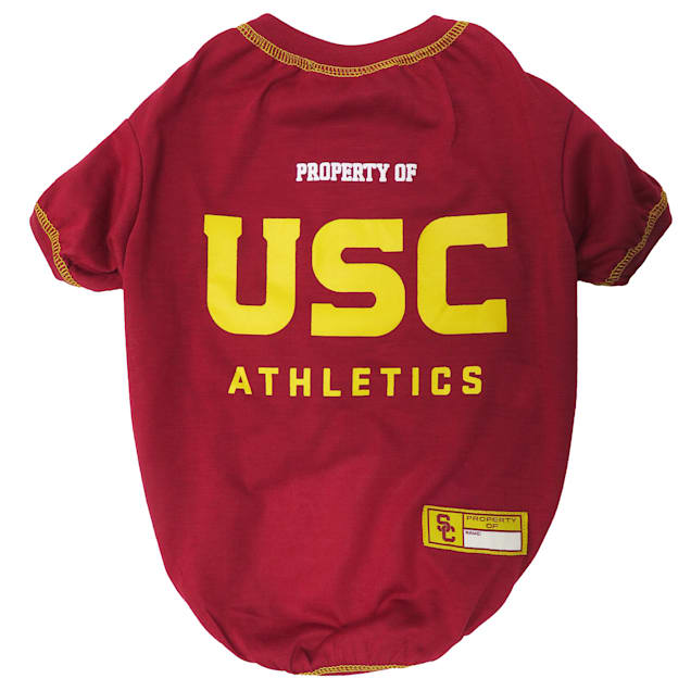 Pets First USC Trojans NCAA T-Shirt for Dogs, X-Small - Carousel image #1