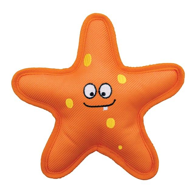 KONG Belly Flops Starfish Dog Toy, Medium - Carousel image #1
