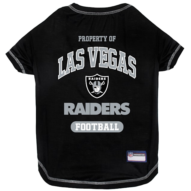 Pets First Oakland Raiders T-Shirt, X-Small - Carousel image #1