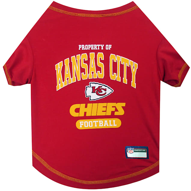 Pets First Kansas City Chiefs T-Shirt, X-Small - Carousel image #1