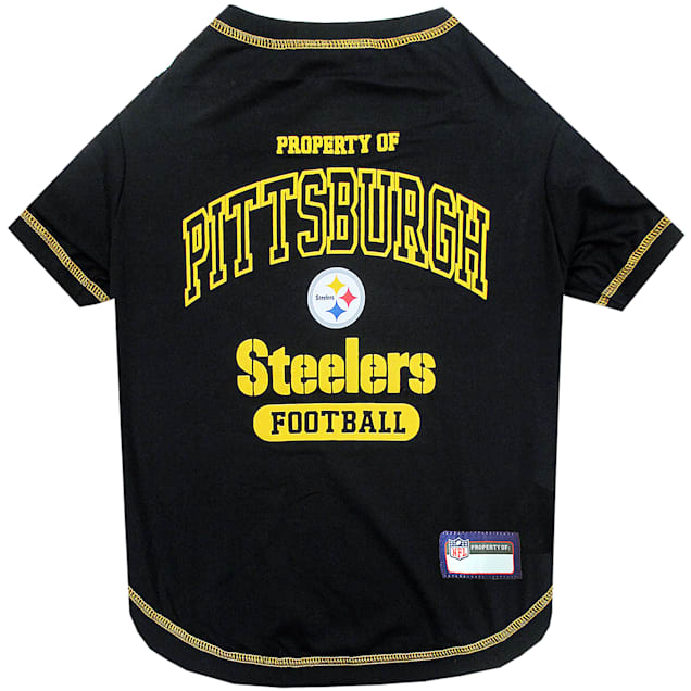 Pets First Pittsburgh Steelers T-Shirt, X-Small - Carousel image #1