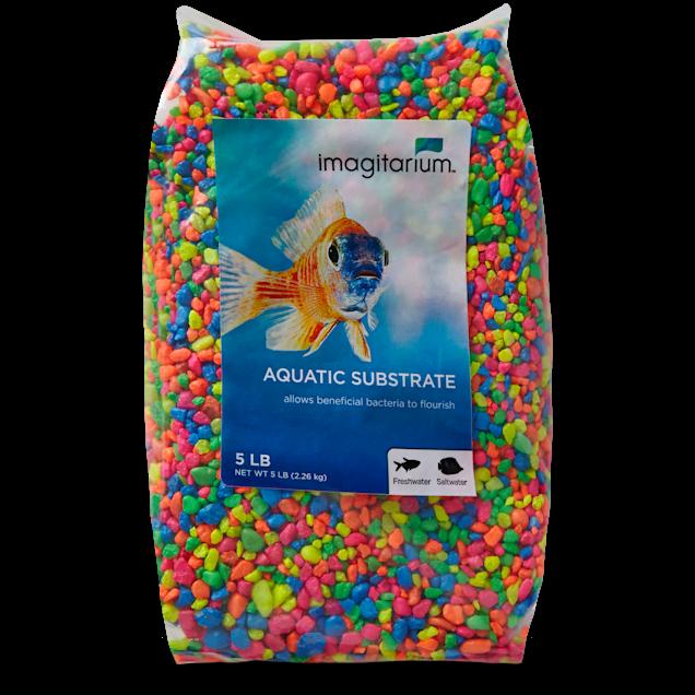 Imagitarium Neon Confetti Mix Aquarium Gravel, 5 lbs - Carousel image #1