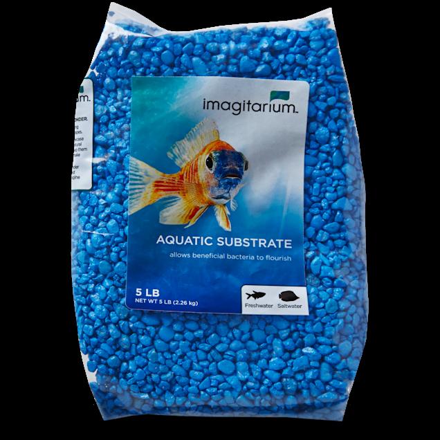 Imagitarium Blue Sky Aquarium Gravel, 5 lbs - Carousel image #1