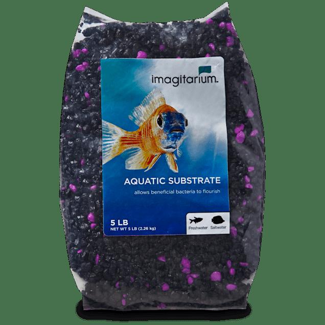 Imagitarium Purple Punk Aquarium Gravel, 5 lbs - Carousel image #1