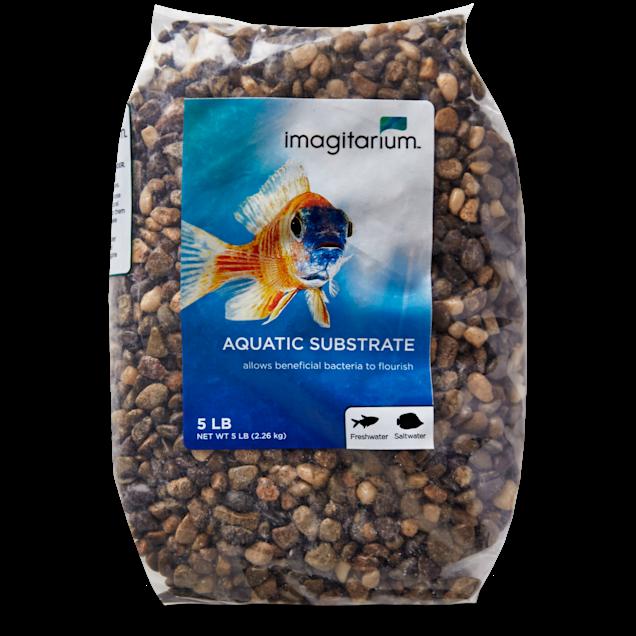 Imagitarium Rocky River Aquarium Gravel, 5 lbs - Carousel image #1