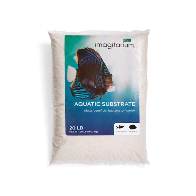 Imagitarium White Aquarium Sand, 20 LBS - Carousel image #1