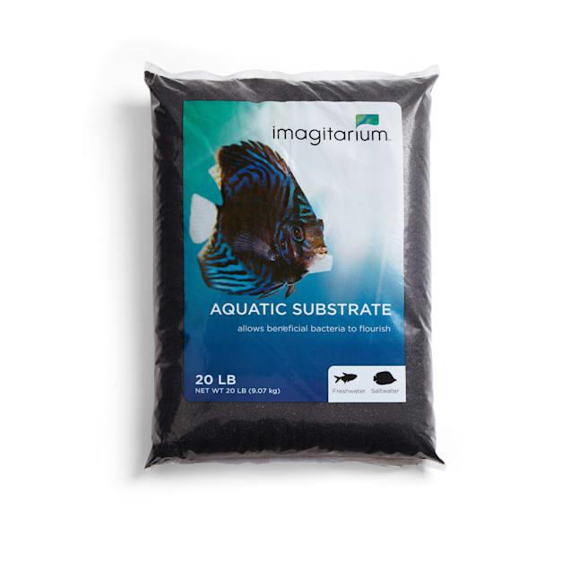 Imagitarium Black Aquarium Sand, 20 LBS - Carousel image #1