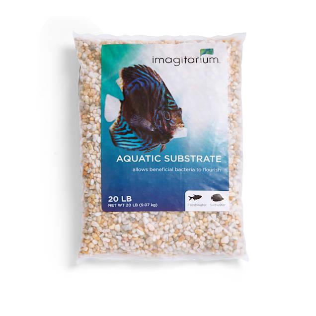 Imagitarium Snowy River Aquarium Gravel, 20 LBS - Carousel image #1