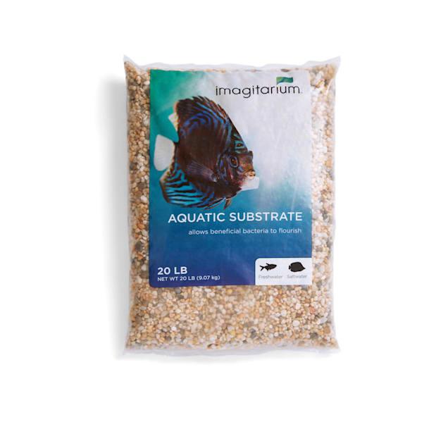 Imagitarium Nutmeg Aquarium Gravel, 20 lbs. - Carousel image #1