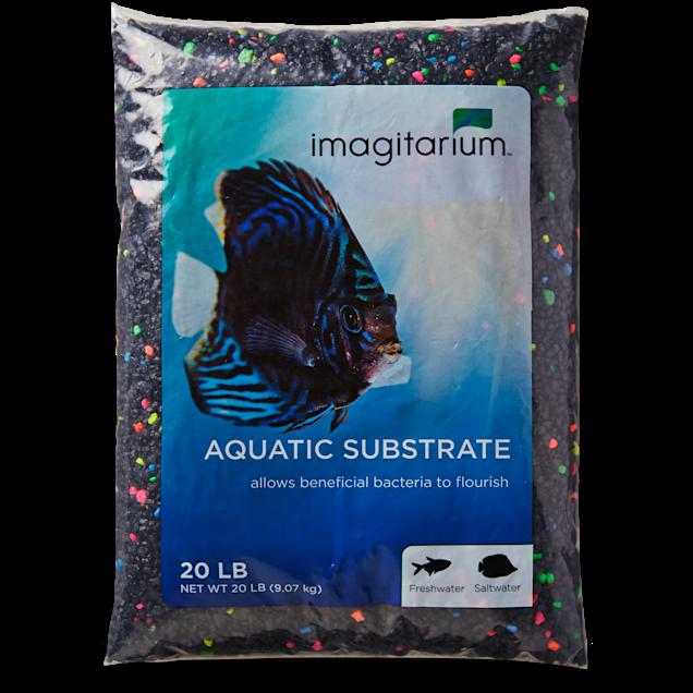 Imagitarium Black Lagoon Aquarium Gravel, 20 lbs. - Carousel image #1