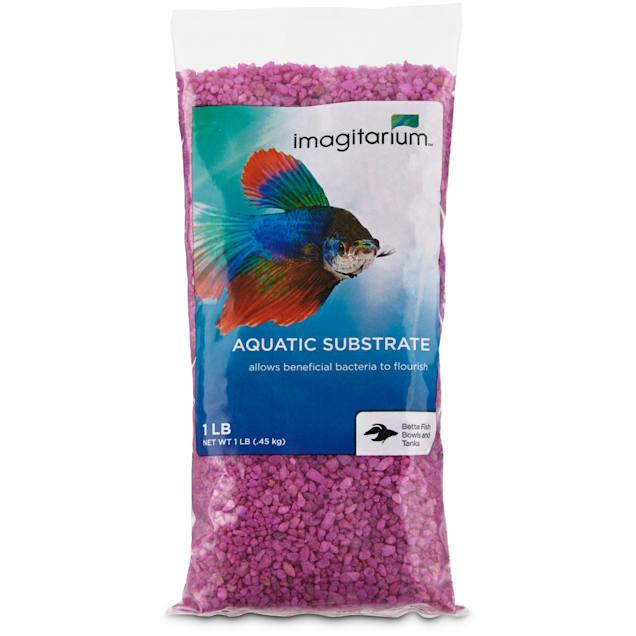 Imagitarium Purple Aquarium Gravel, 1  lb. - Carousel image #1