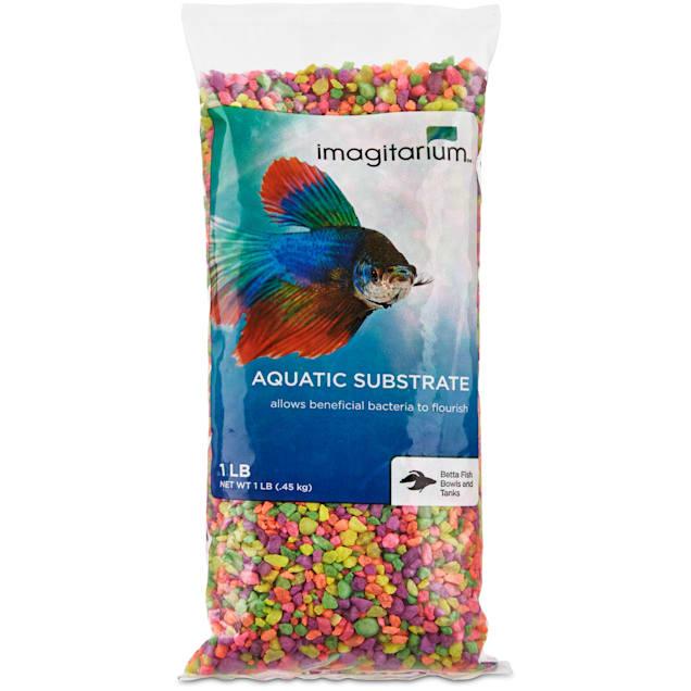 Imagitarium Mini Rainbow Aquarium  Gravel, 1 lb. - Carousel image #1