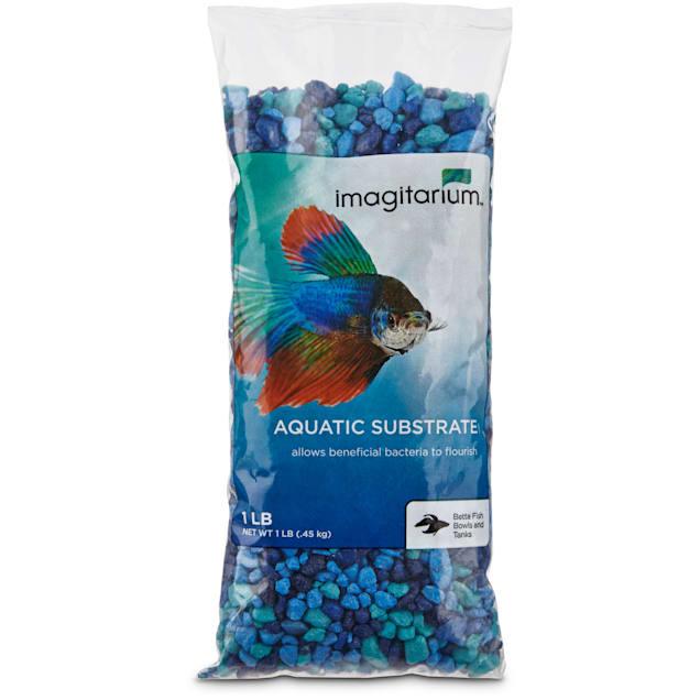 Imagitarium Blue Jean Aquarium Gravel, 1 lb. - Carousel image #1