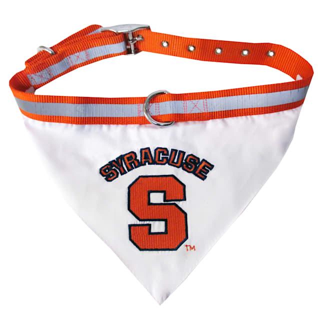 Syracuse Orange NCAA Dog Collar Bandana, Small - Carousel image #1
