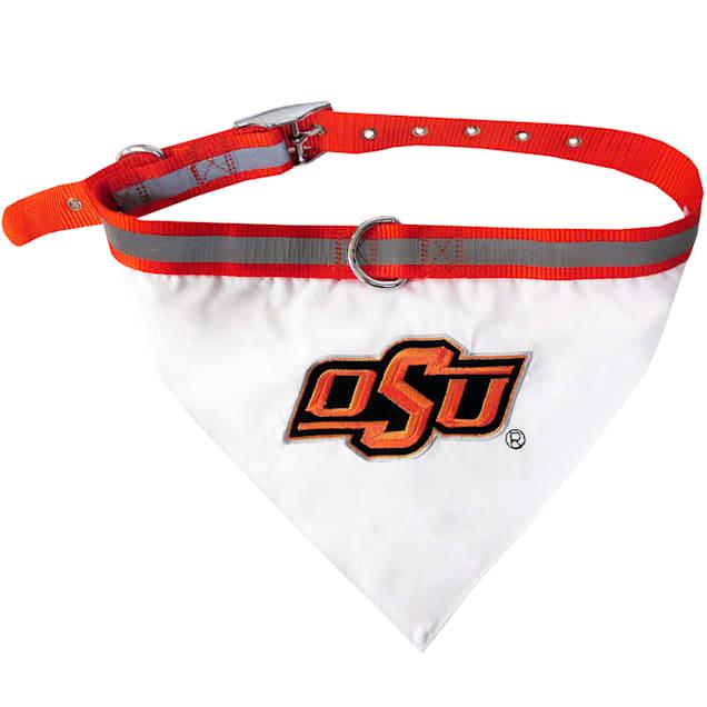 Pets First Oklahoma State Cowboys NCAA Dog Collar Bandana, Large - Carousel image #1