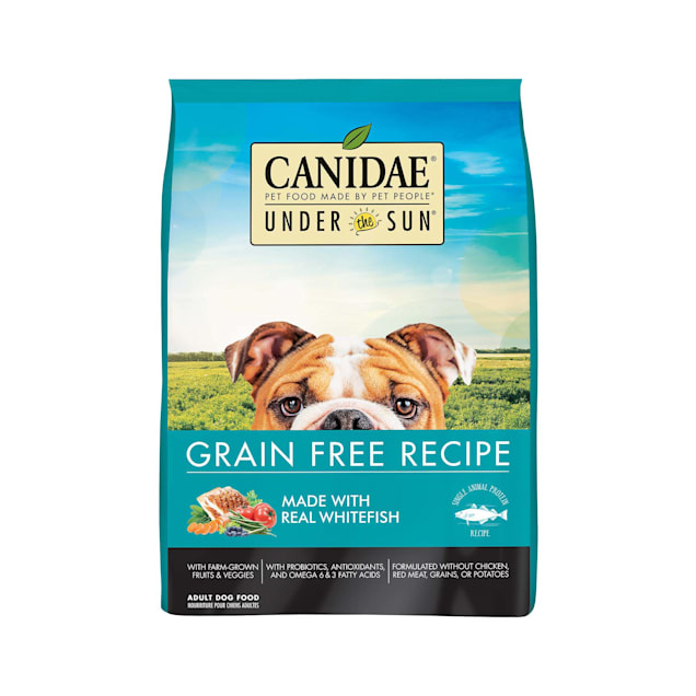 CANIDAE Under the Sun Grain Free Whitefish Recipe Adult Dry Dog Food, 23.5 lbs. - Carousel image #1