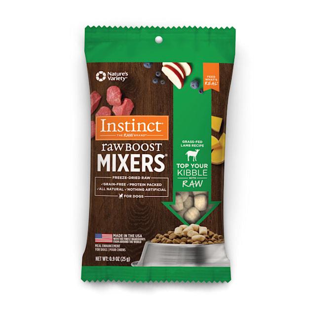 Instinct Freeze-Dried Raw Boost Mixers Grain-Free Lamb Recipe Dog Food Topper, 0.9 oz. - Carousel image #1