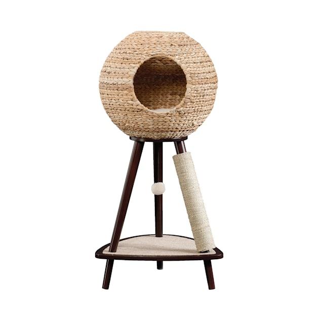 "Sauder Natural Sphere Cat Tower, 43.7""H - Carousel image #1"